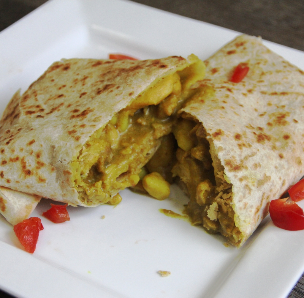how to make chicken roti